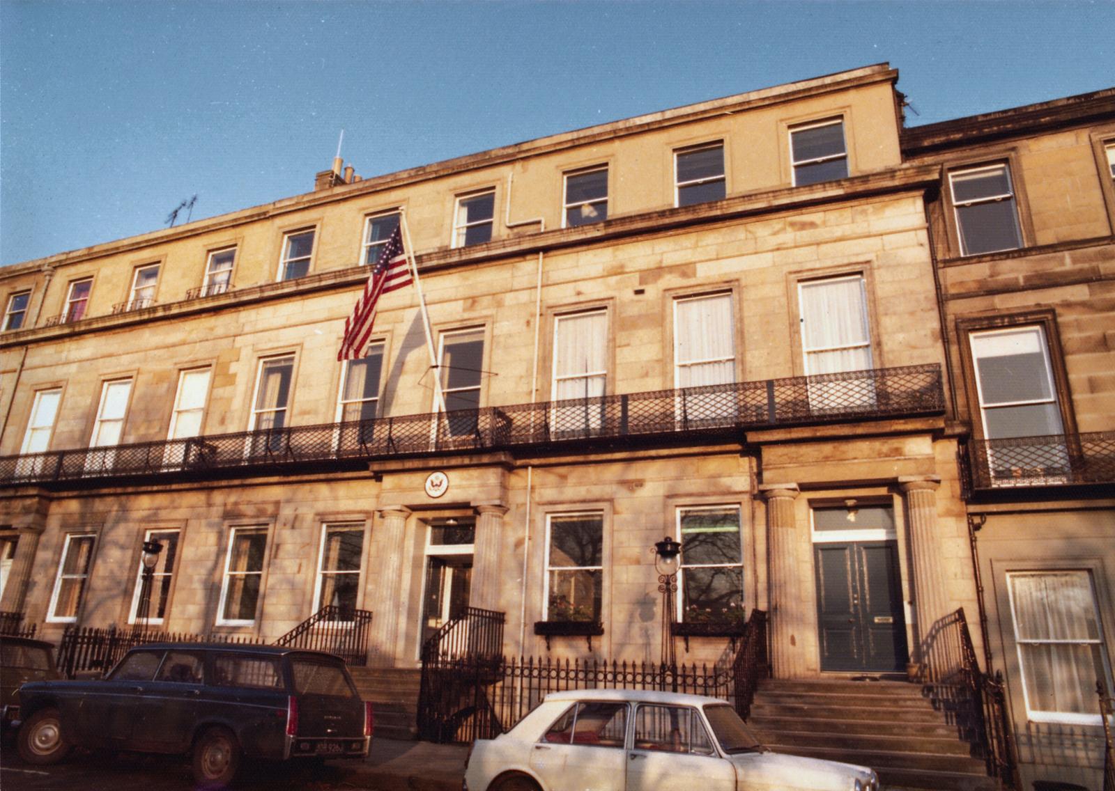 Edinburgh - Consulate Office Building - 1976
