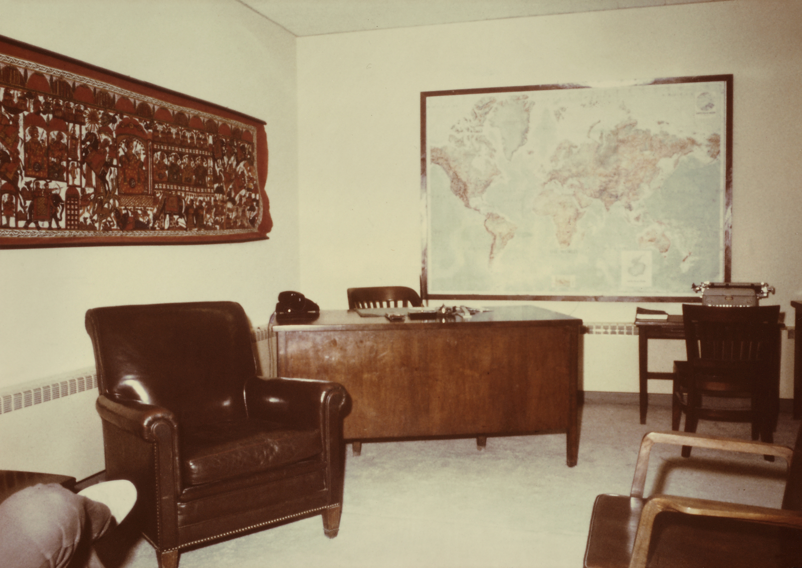 Kabul - Chancery Office Building - 1973