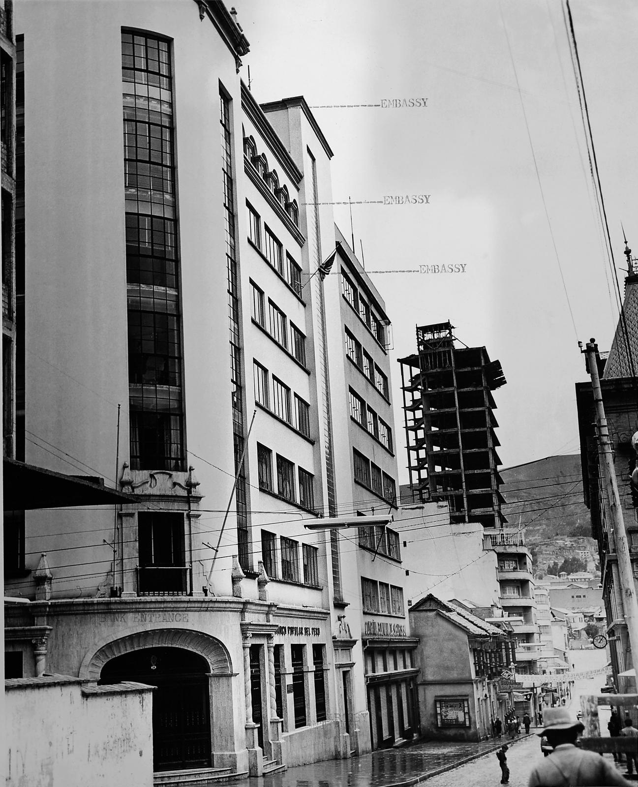 La Paz - Chancery Office Building - 1962