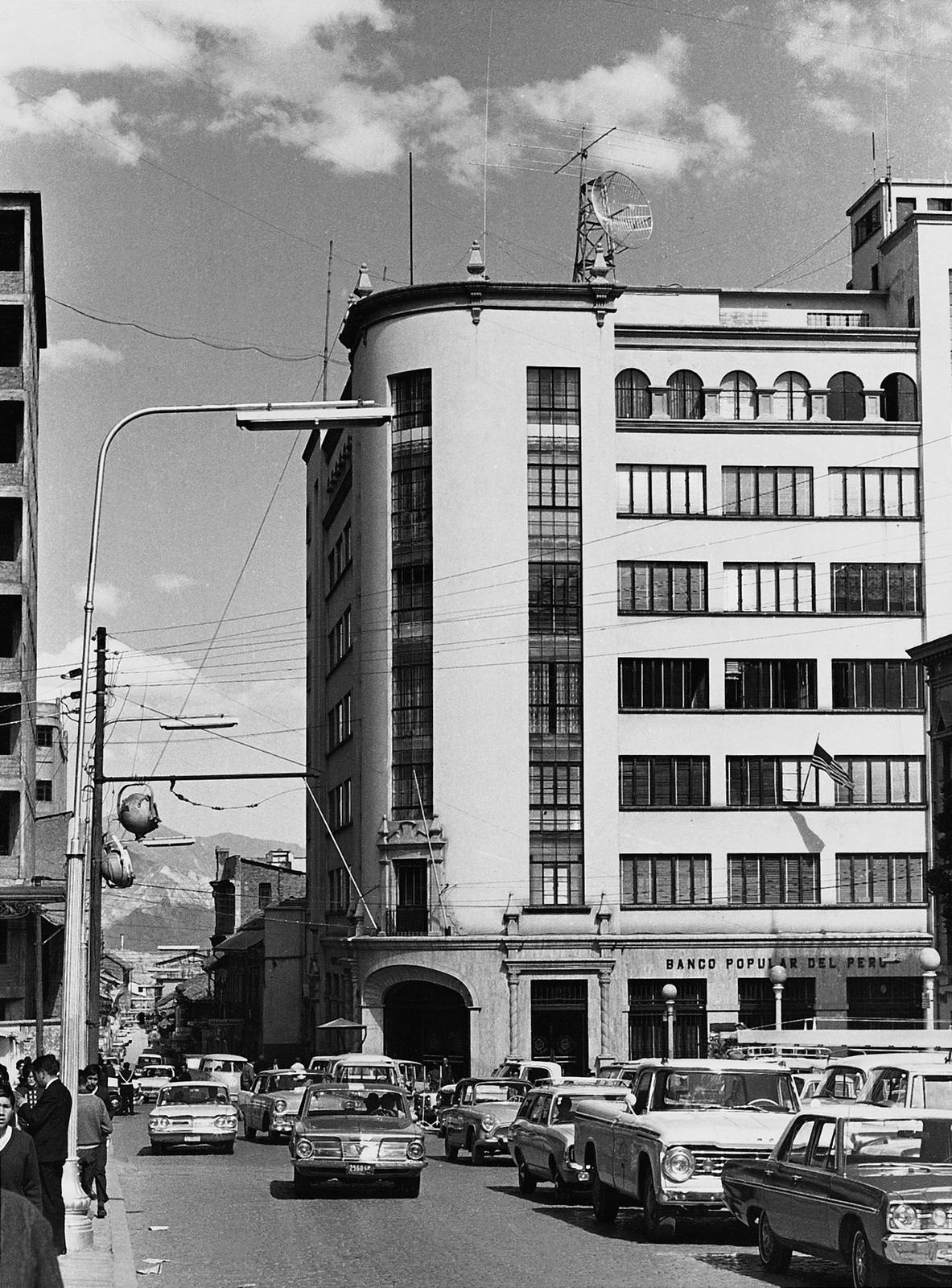La Paz - Chancery Office Building - 1969