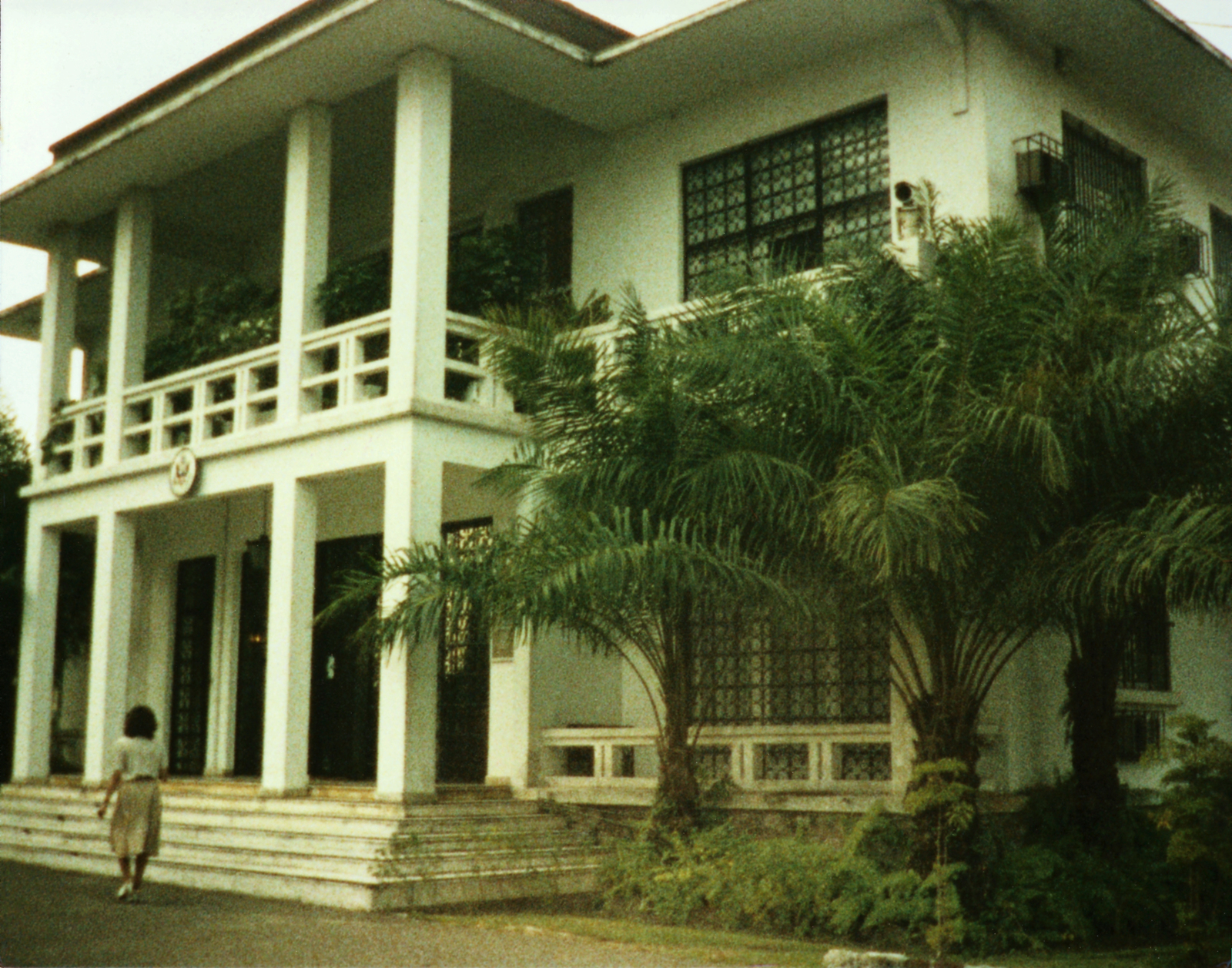 Libreville - Chancery Office Building - 1987