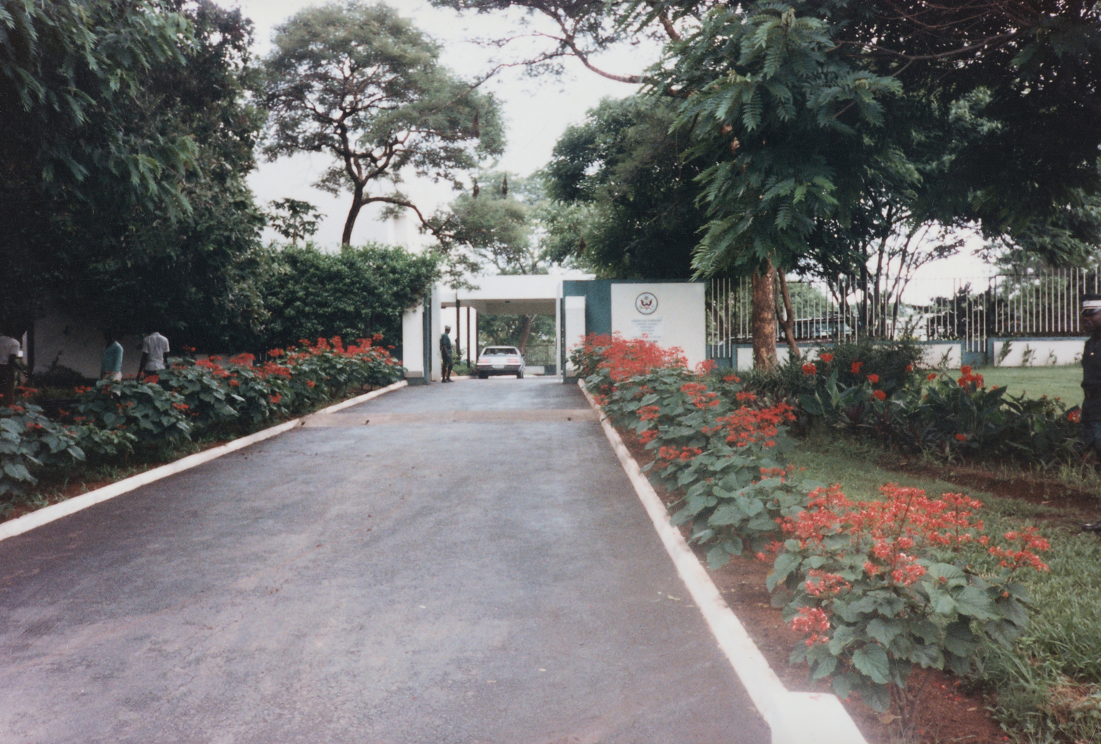 Lilongwe - Chancery Office Building - 1984