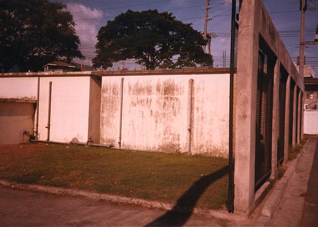 Manila - Official Vehicle Maintenance Building - 1985