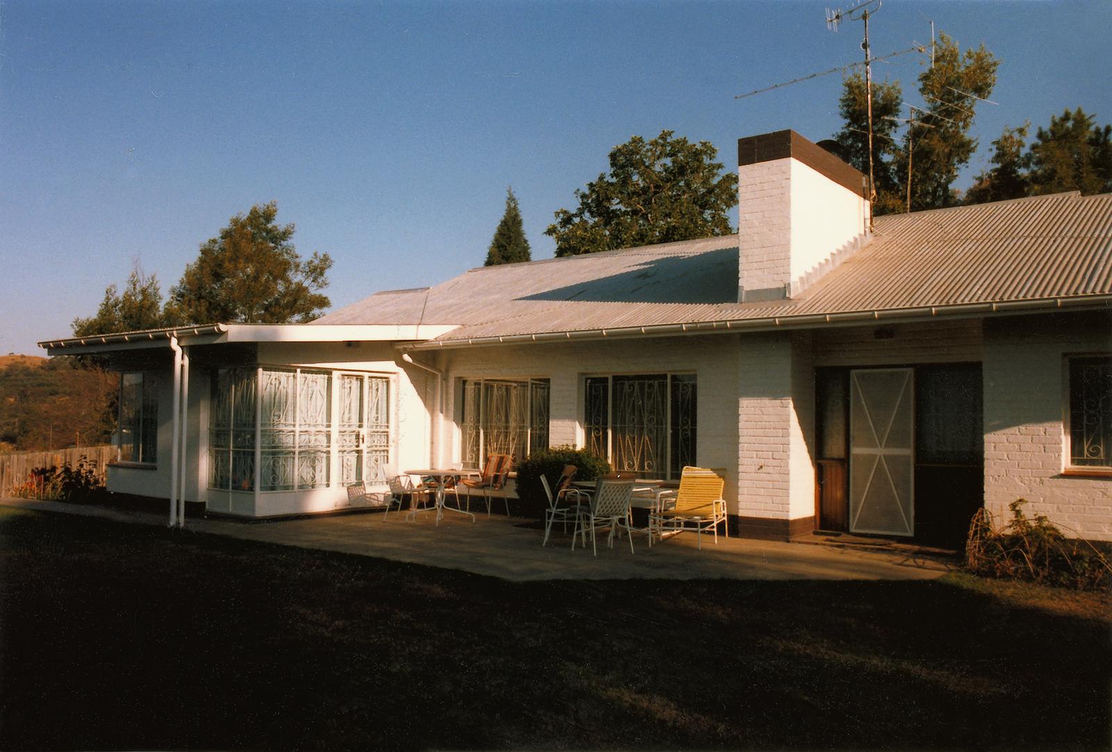 Mbabane - Standard Level Position Residence - 1986