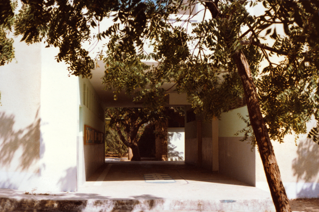 Mogadishu - Official Vehicle Maintenance Building - 1982