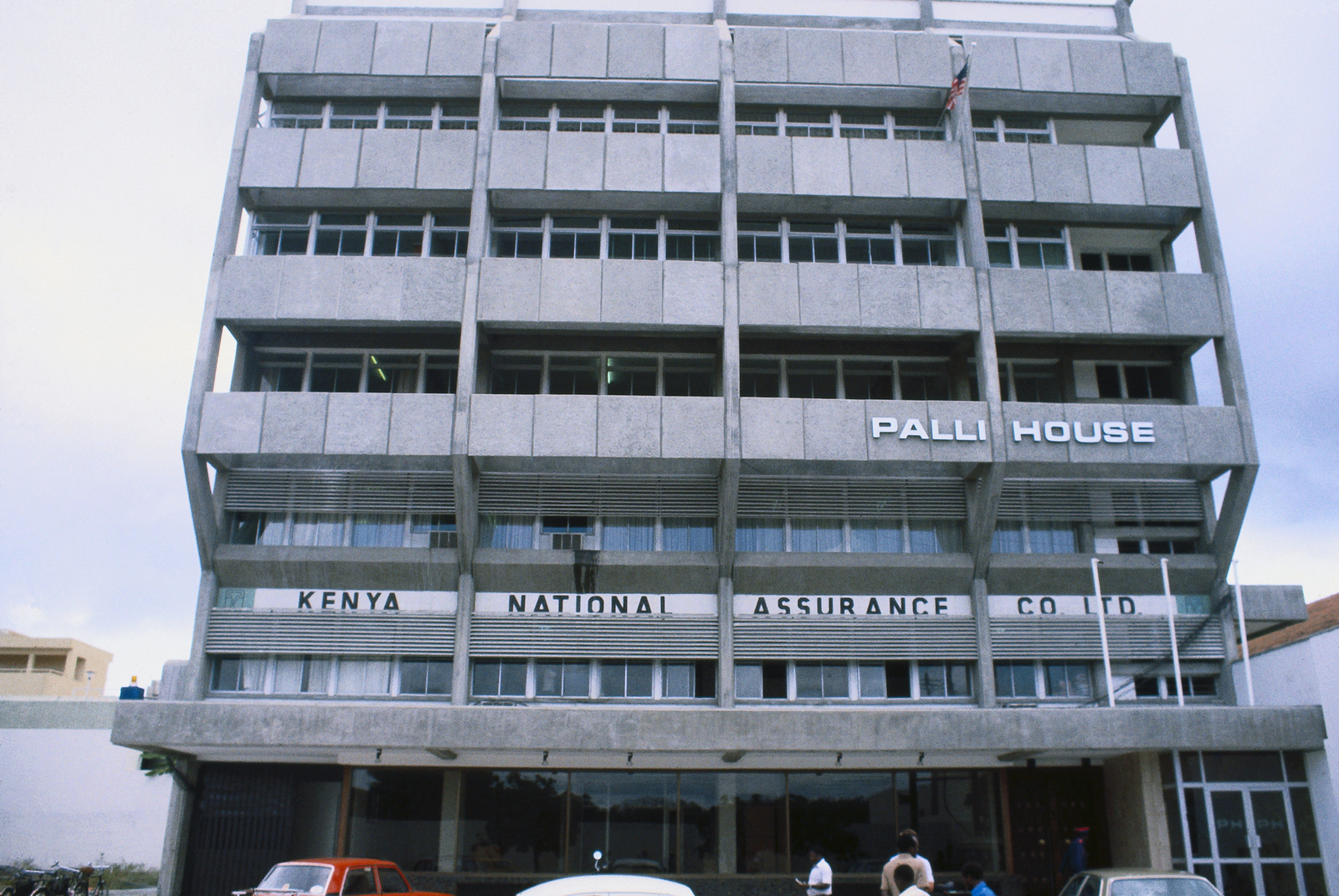Mombasa - Chancery Office Building - 1982