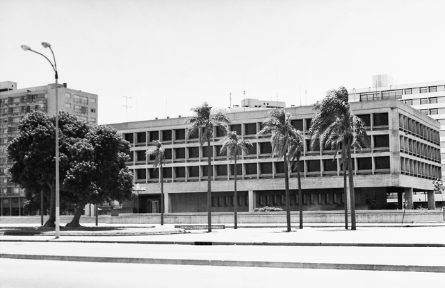 Montevideo - Chancery Office Building - 1979