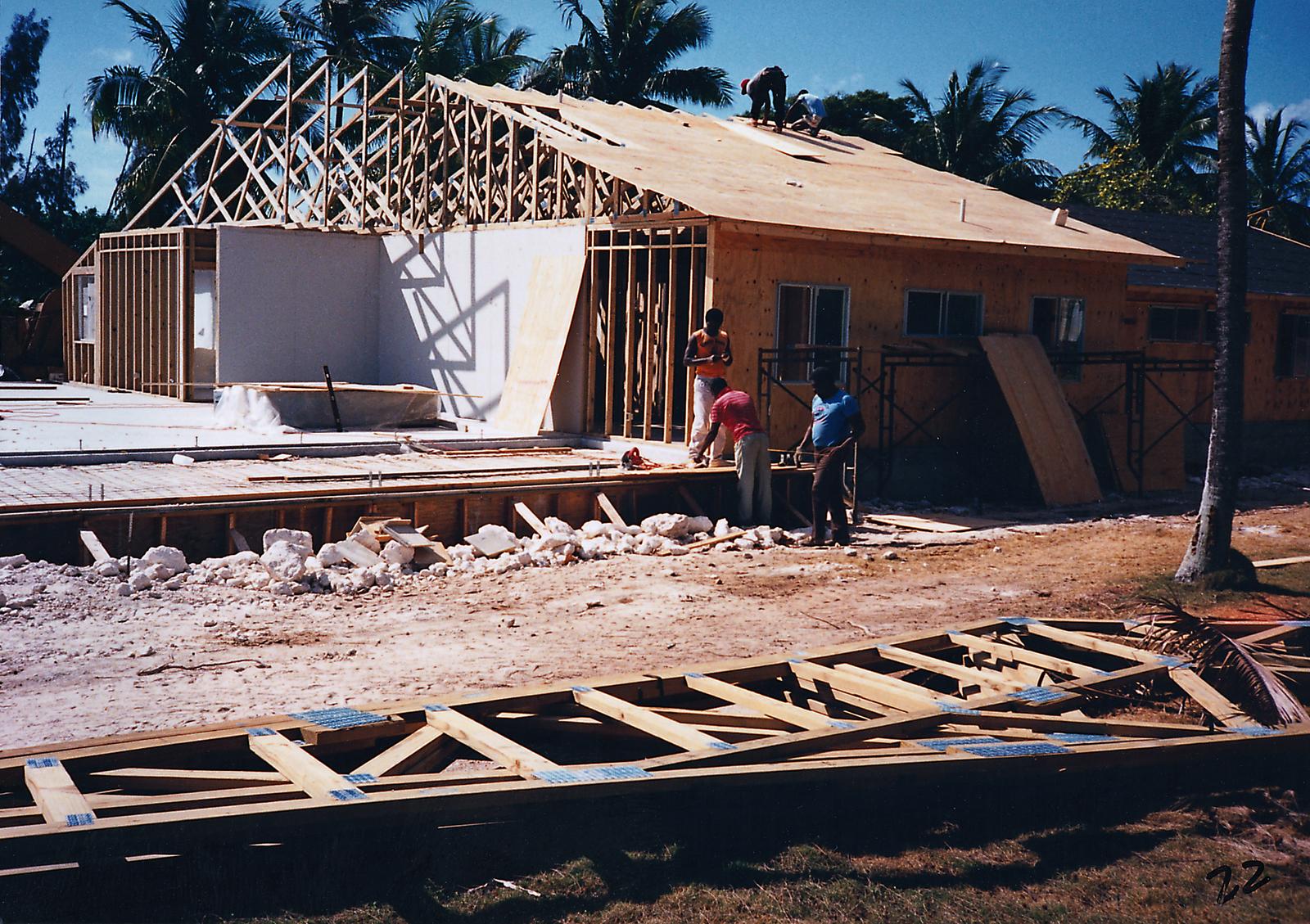Nassau - Marine Security Guard Residence - 1988