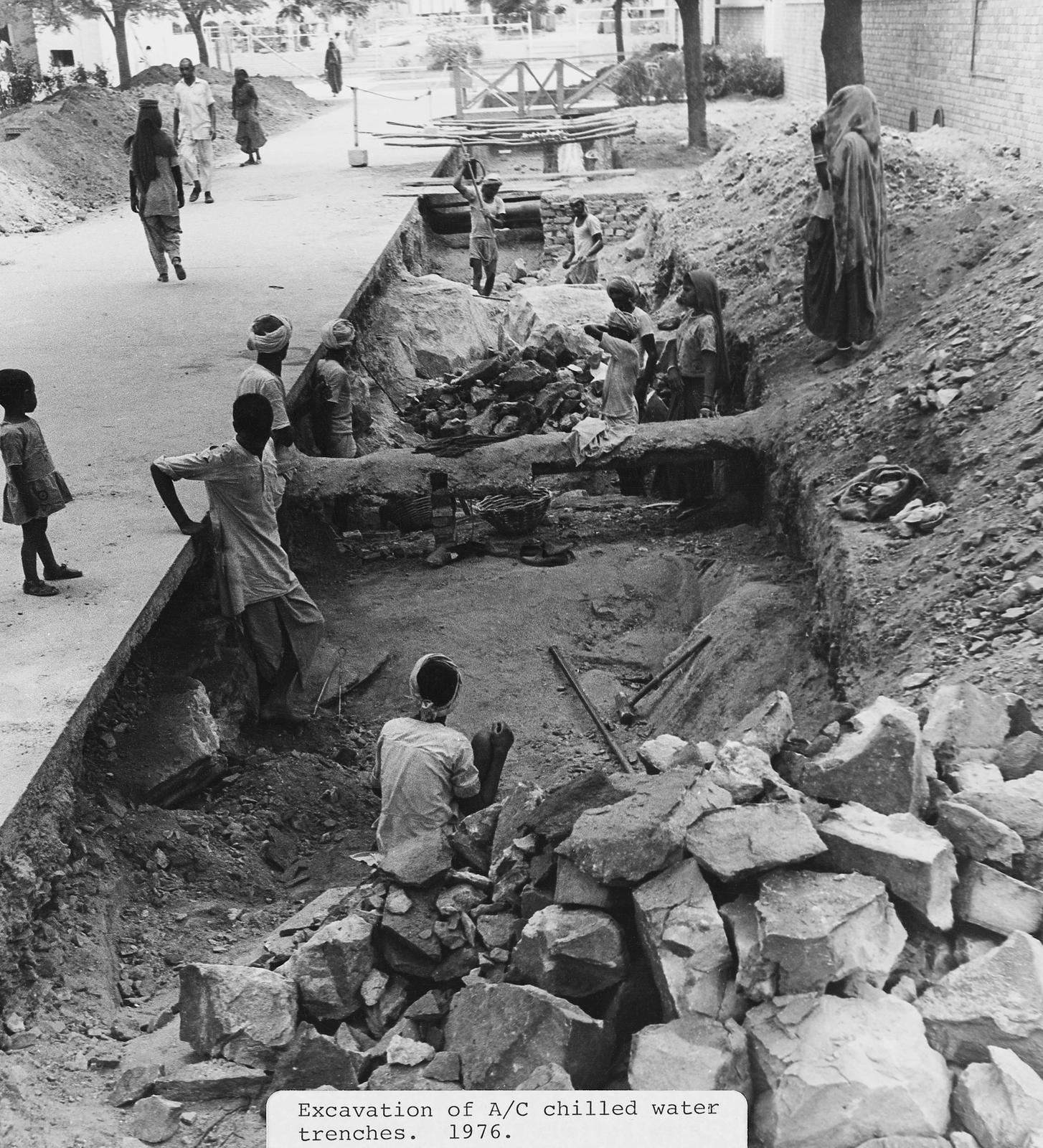 New Delhi - Compound Site - 1976