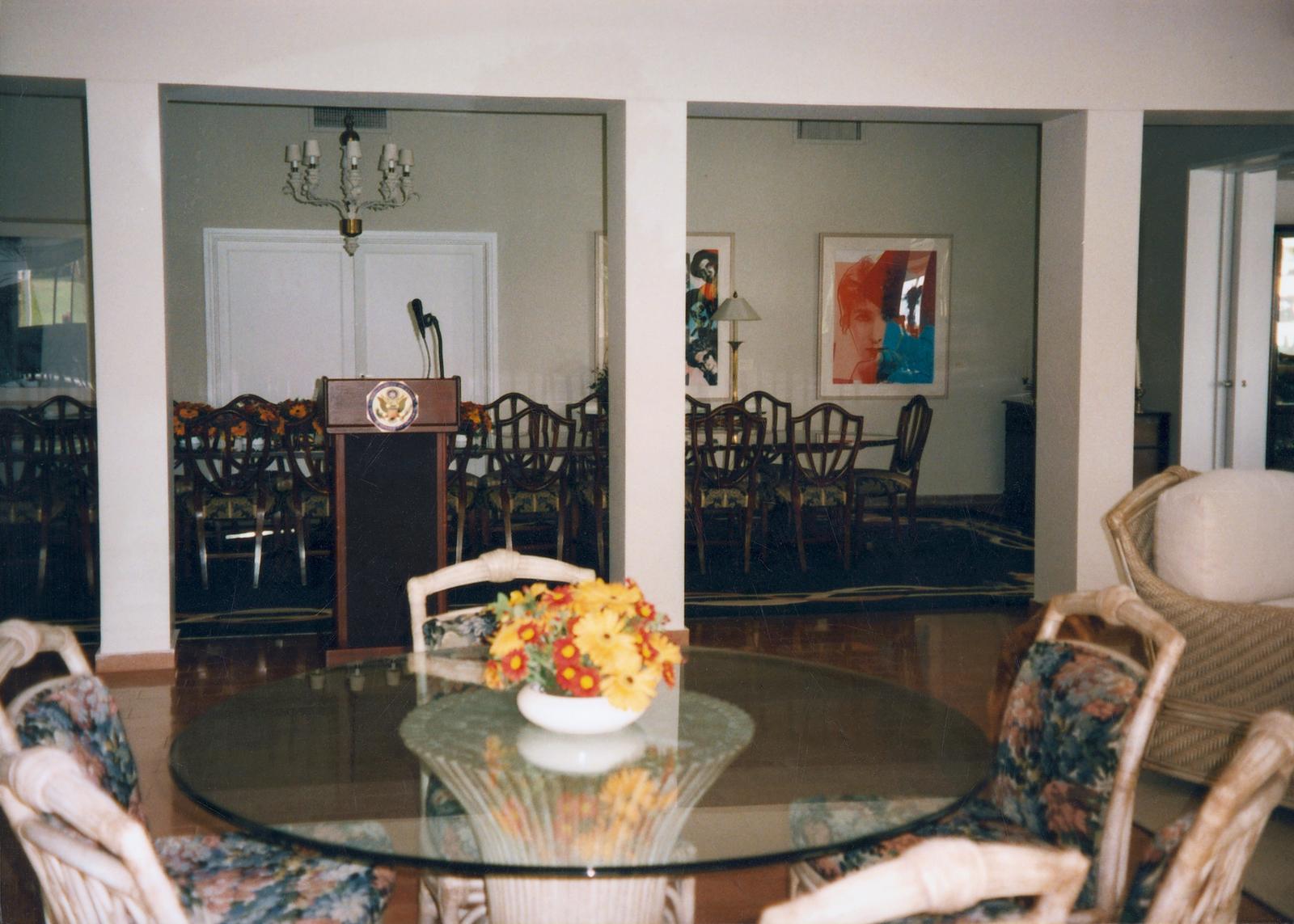 Tel Aviv - Ambassador's Residence - 1996