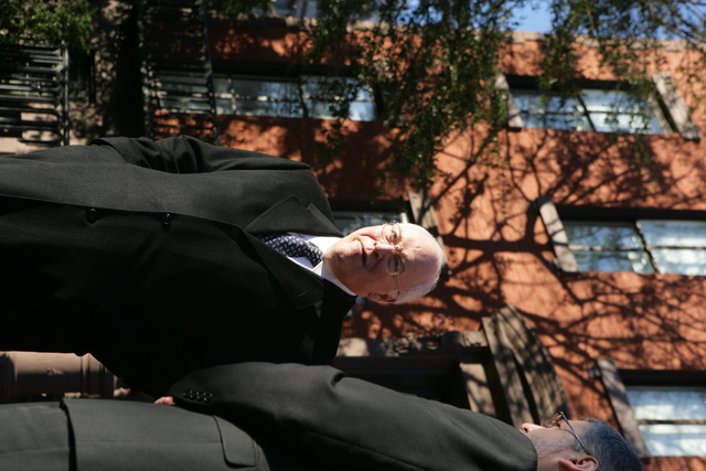 Vice President Cheney with David Addington Before Departure of President Ford's Funeral Procession