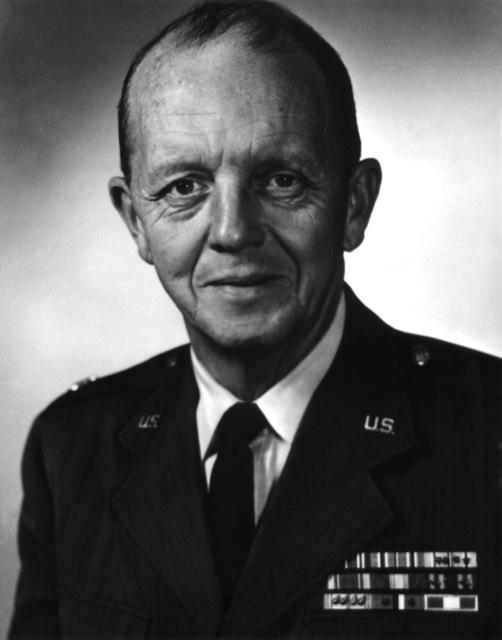 Commander AFRS/AFRTS-Broadcast Center - James H. Rose, LT. COL., USAF from October 1954 - January 1960.  (Exact Date Shot Unknown)