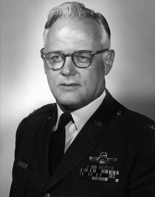 Commander AFRTS-Broadcast Center - Albert E. Audick, COL., USAF from April 1973 - August 1975.  (Exact Date Shot Unknown)