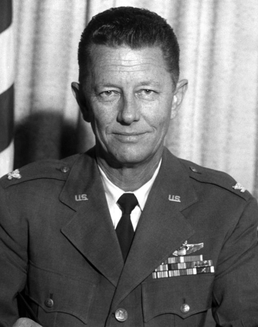 Commander AFRTS-Broadcast Center - Robert R. Eby, COL., USAF from July 1964 - January 1966 and March 1967 - July 1968.  (Exact Date Shot Unknown)