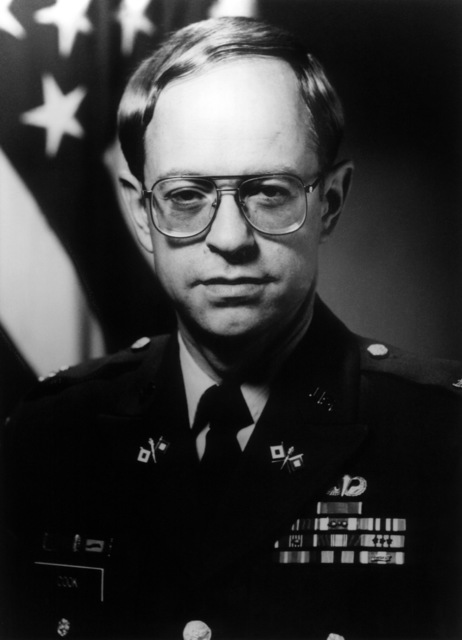 Commander AFRTS-Broadcast Center - Joseph L. Cook, COL., USA from April 1989 - December 1989.  (Exact Date Shot Unknown)