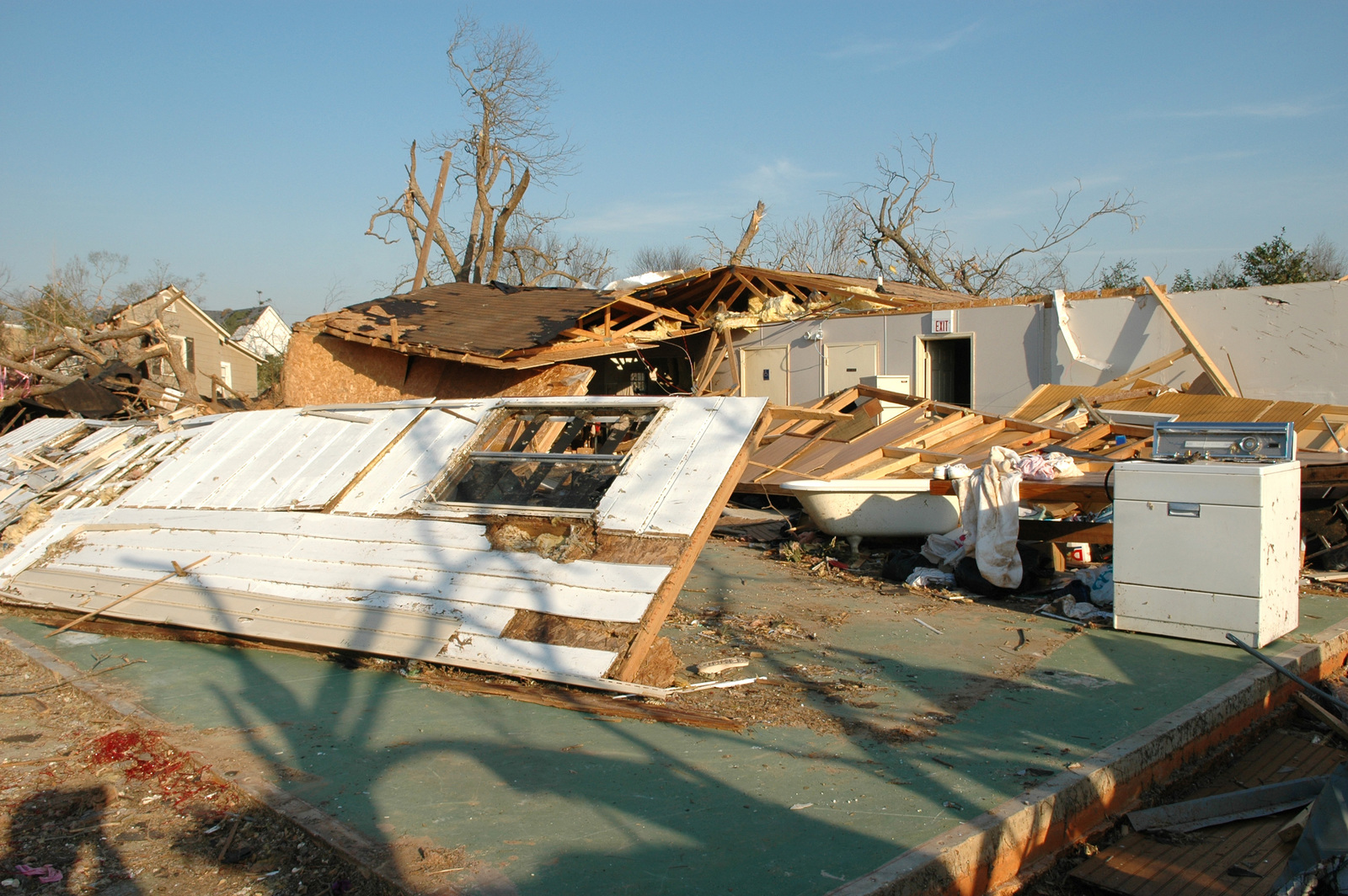 [Severe Storms and Tornadoes] Americus, GA, March 8, 2007 -- A business destroyed by the Georgia tornadoes.  The tornadoes caused extensive damage in Georgia.  Mark Wolfe/FEMA