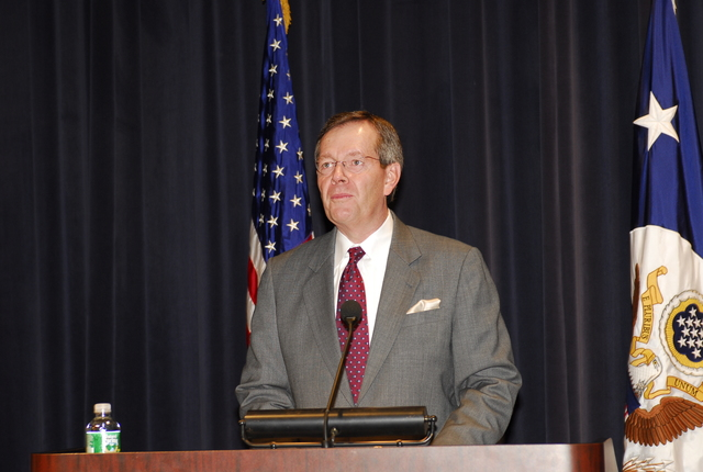 [Assignment: 59-CF-DS-33542-07] Summit on Global Aging, in Dean Acheson Auditorium, [where participants from government, universities, and the private sector discussed the effects of population aging on economic growth, labor force, trade, migration, international relations, and national security... [Photographer: Ann Thomas--State] [59-CF-DS-33542-07_CON0005.JPG]