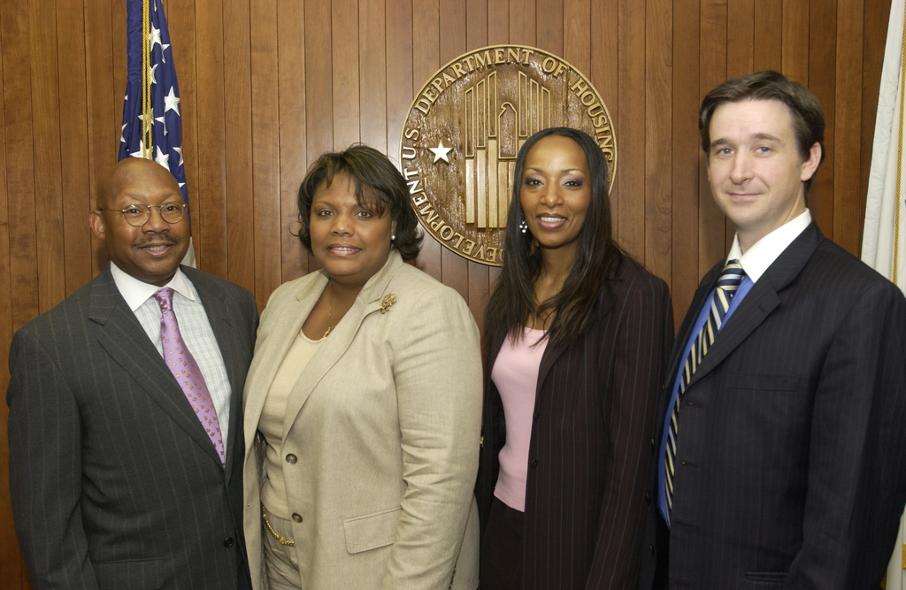 Visit of Bishop David Evans and Associates to HUD - Visit of Bishop David Evans and associates to HUD Headquarters for meeting with Secretary Alphonso Jackson, staff