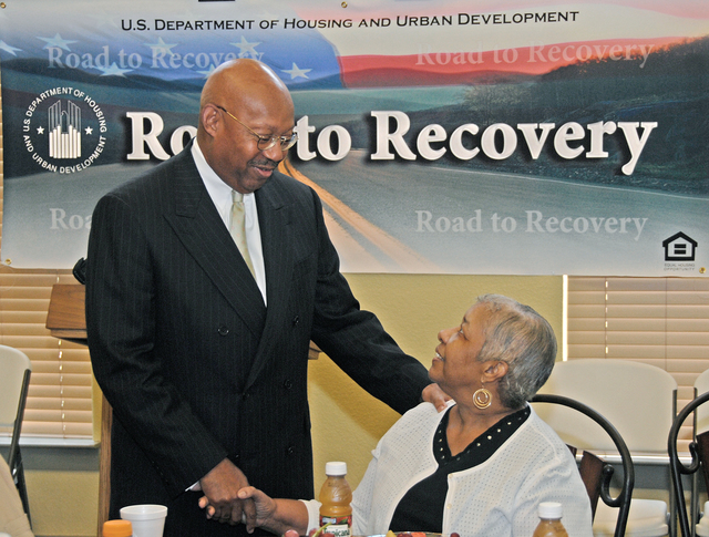 Hurricane Katrina Evacuee Assistance Announcement in Houston, Texas - Visit of Secretary Alphonso Jackson to Houston, Texas to announce the extension of HUD Disaster Voucher Program (DVP) payments for housing assistance to Hurricane Katrina evacuees