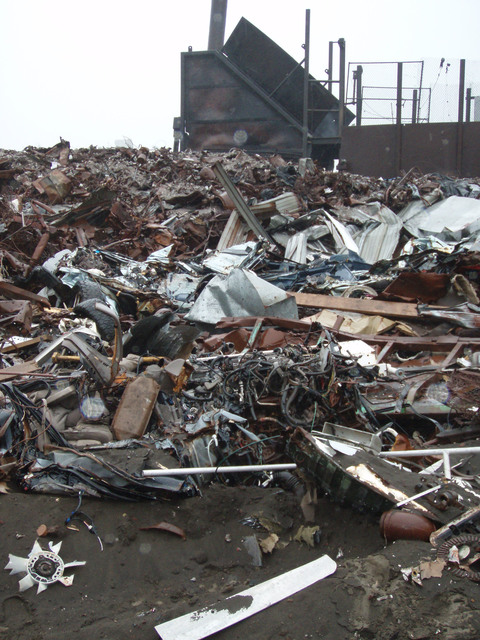 Metallic Debris Disposal Area