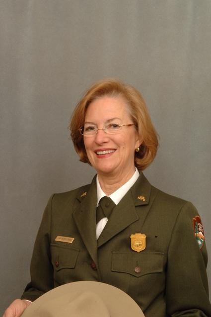 [Assignment: 48-DPA-12-12-07_K_NPS_Matthews] Portrait of Janet Matthews, [Associate Director for Cultural Resources,] National Park Service [48-DPA-12-12-07_K_NPS_Matthews_DOI_7879.JPG]