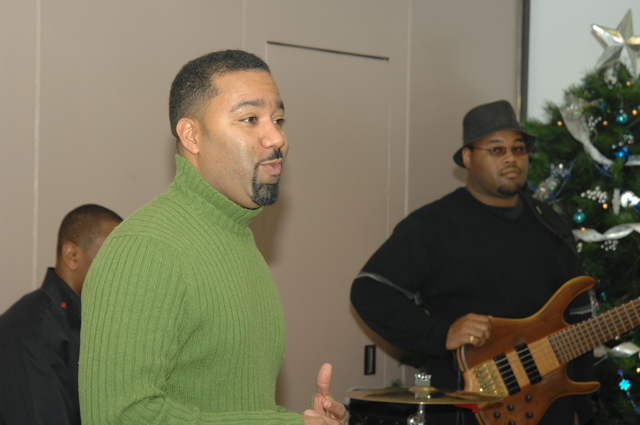 Marcus Johnson Concert at HUD - Musical performance at HUD Headquarters by Marcus Johnson, [jazz-fusion pianist-keyboardist and producer, and Washington, D.C. native]