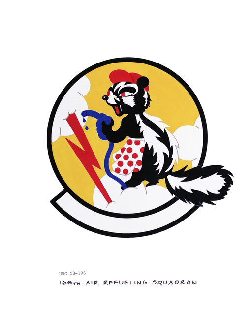 Approved insignia for: 168th Air Refueling Squadron OFFICIAL U.S. AIR FORCE PHOTO (RELEASED)