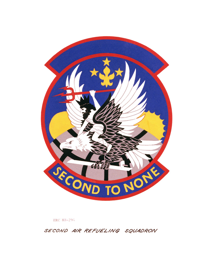 Approved insignia for: 2nd Air Refueling Squadron OFFICIAL U.S. AIR FORCE PHOTO (RELEASED)