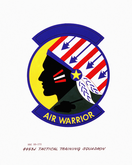 Approved insignia for: 4443rd Tactical Training Squadron OFFICIAL U.S. AIR FORCE PHOTO (RELEASED)