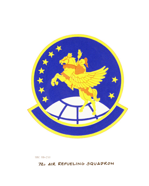 Approved insignia for: 72nd Air Refueling Squadron OFFICIAL U.S. AIR FORCE PHOTO (RELEASED)