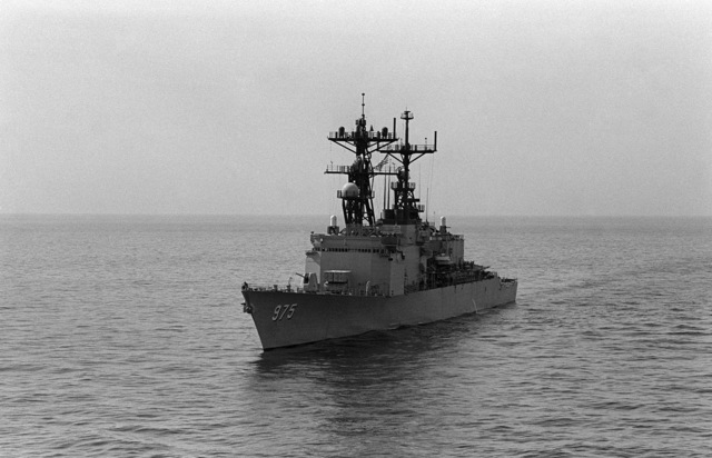 PH2 M.A. Harnar Persian Gulf....A port bow view of the destroyer USS O'Brien (DD-975). OFFICIAL U.S. NAVY PHOTO (RELEASED)