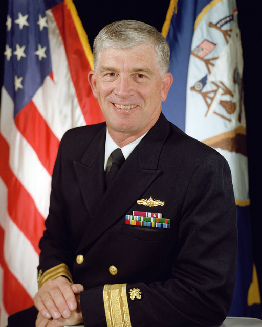 Rear Adm. (lower half) Peter A. Bondi, USN (uncovered) OFFICIAL U.S. NAVY PHOTO (RELEASED)