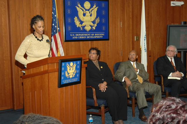 Black History Month Opening Program - Black History Month Opening Ceremony, with HUD officials, at HUD Headquarters