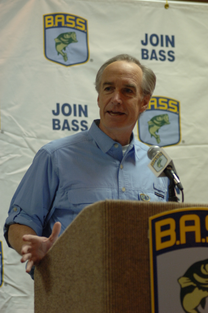 [Assignment: 48-DPA-02_21_08_SIO_K_SC_Bass_Sp] Bassmasters Classic professional fishing tournament luncheon, Greenville, South Carolina, [with speakers including] Secretary Dirk Kempthorne [48-DPA-02_21_08_SIO_K_SC_Bass_Sp_DOI_9971.JPG]