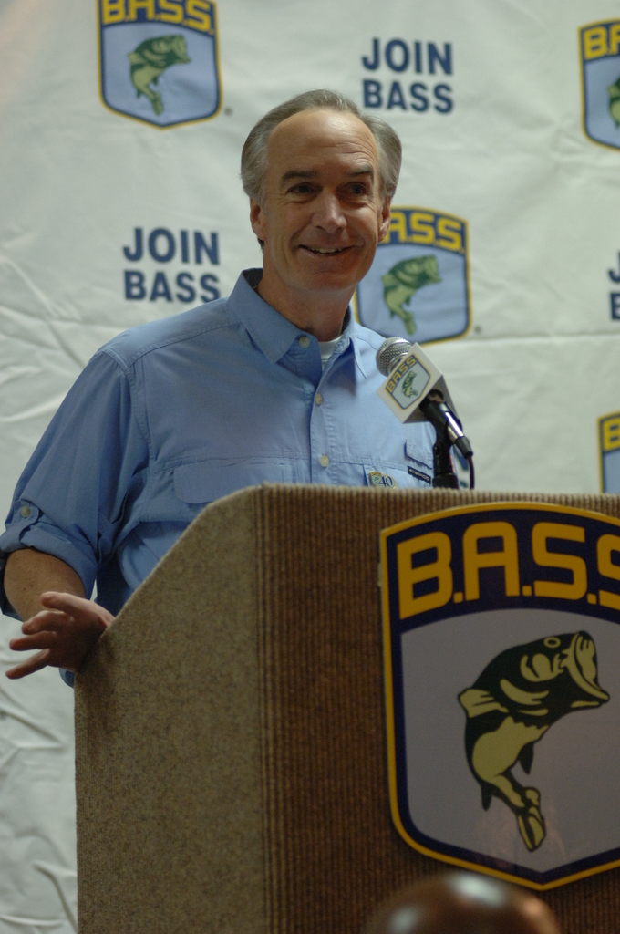 [Assignment: 48-DPA-02_21_08_SIO_K_SC_Bass_Sp] Bassmasters Classic professional fishing tournament luncheon, Greenville, South Carolina, [with speakers including] Secretary Dirk Kempthorne [48-DPA-02_21_08_SIO_K_SC_Bass_Sp_DOI_9986.JPG]