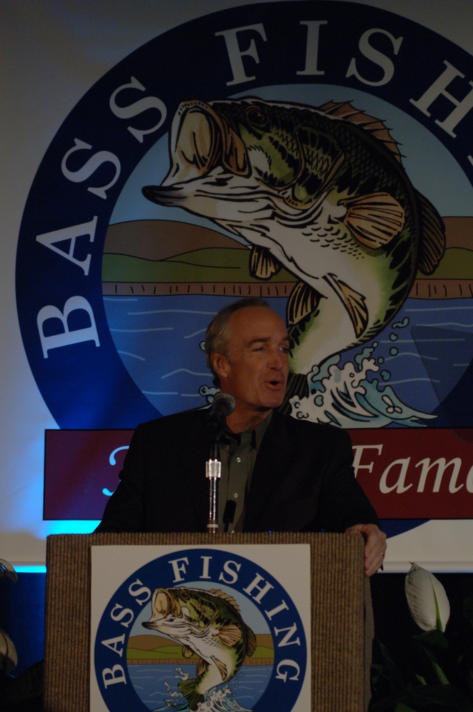 [Assignment: 48-DPA-02_21_08_SIO_K_SC_Bass_Din] Bassmasters Classic professional fishing tournament dinner, [sponsored by the Bass Fishing Hall of Fame,] in Greenville, South Carolina, with speakers including Secretary Dirk Kempthorne, [who announced the distribution of more than $700 million to 56 state and territorial wildlife agencies to fund fish and wildlife conservation efforts, boat access, shooting ranges, and hunter education] [48-DPA-02_21_08_SIO_K_SC_Bass_Din_DOI_0313.JPG]