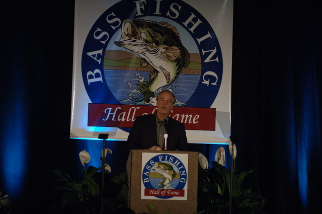 [Assignment: 48-DPA-02_21_08_SIO_K_SC_Bass_Din] Bassmasters Classic professional fishing tournament dinner, [sponsored by the Bass Fishing Hall of Fame,] in Greenville, South Carolina, with speakers including Secretary Dirk Kempthorne, [who announced the distribution of more than $700 million to 56 state and territorial wildlife agencies to fund fish and wildlife conservation efforts, boat access, shooting ranges, and hunter education] [48-DPA-02_21_08_SIO_K_SC_Bass_Din_DOI_0276.JPG]