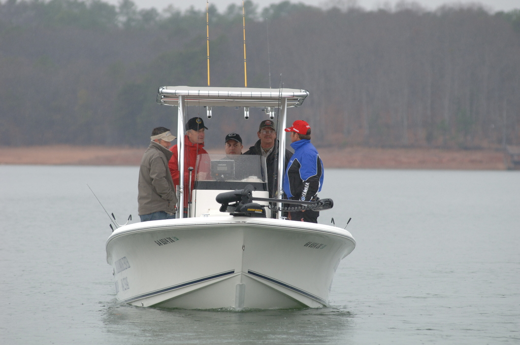 [Assignment: 48-DPA-02_21_08_SIO_K_SC_Bass_Fish] Activities at the Bassmasters Classic professional fishing tournament, [Lake Hartwell,] Greenville, South Carolina, with Secretary Dirk Kempthorne [among the attendees] [48-DPA-02_21_08_SIO_K_SC_Bass_Fish_DOI_0218.JPG]
