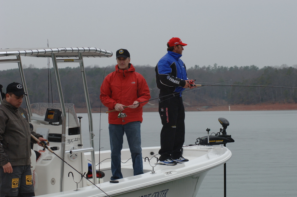[Assignment: 48-DPA-02_21_08_SIO_K_SC_Bass_Fish] Activities at the Bassmasters Classic professional fishing tournament, [Lake Hartwell,] Greenville, South Carolina, with Secretary Dirk Kempthorne [among the attendees] [48-DPA-02_21_08_SIO_K_SC_Bass_Fish_DOI_0113.JPG]