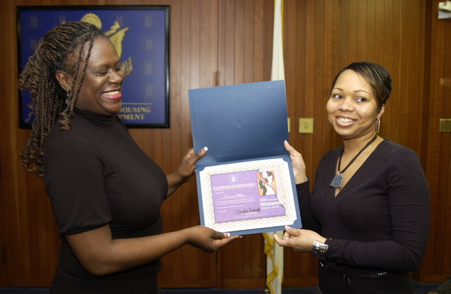 """National Women's History Month Program - National Women's History Month Program at HUD Headquarters: """"Women's Art: Women's Vision"""" theme, Poetry CafΘ event"""