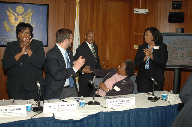 """Historically Black Colleges and Universities (HBCU) Grant Program Round Table - Round Table on HUD's Historically Black Colleges and Universities (HBCU) Grant Program: """"Strengthening Communities--Evidence of Success"""""""