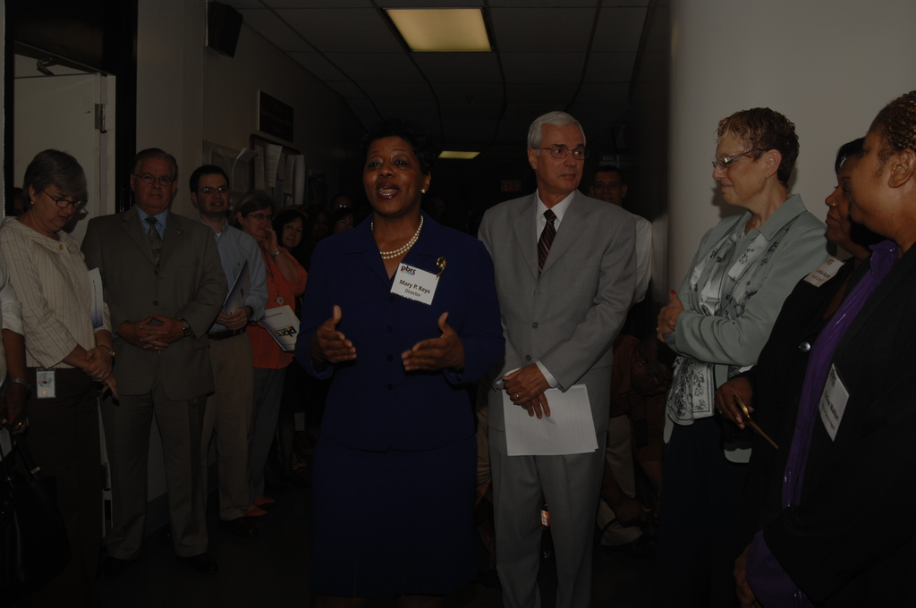 Pay, Benefits, and Retirement Center Opening - Grand opening of the Pay, Benefits, and Retirement Center (PBRC), HUD Headquarters: [officials, tours, displays]