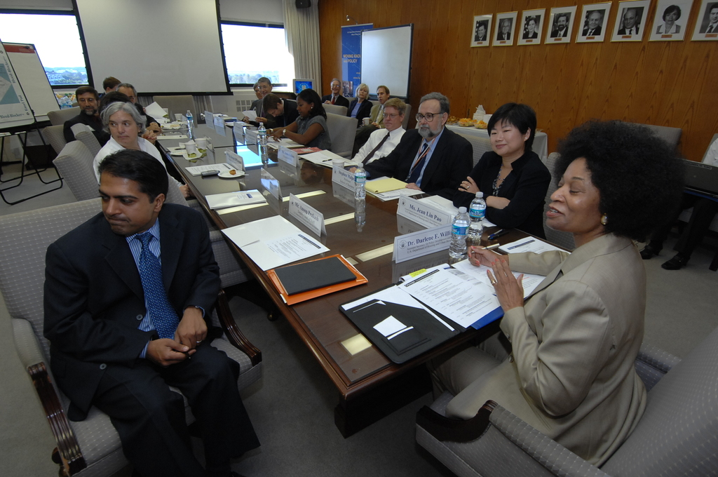 Advisory Council for Publishing in Cityscape Meeting - Meeting of the Advisory Council for Publishing in Cityscape at HUD Headquarters, [with Assistant Secretary for Policy Development and Research, Darlene Williams, and other HUD officials participating]