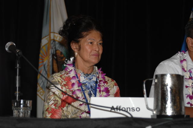"""[Assignment: 48-DPA-09-29-08_SOI_K_Isl_Conf_PM] Insular Areas Health Summit [(""""The Future of Health Care in the Insular Areas: A Leaders Summit"""") at the Marriott Hotel in] Honolulu, Hawaii, where Interior Secretary Dirk Kempthorne [joined senior federal health officials and leaders of the U.S. territories and freely associated states to discuss strategies and initiatives for advancing health care in those communities.] [48-DPA-09-29-08_SOI_K_Isl_Conf_PM_DOI_0713.JPG]"""