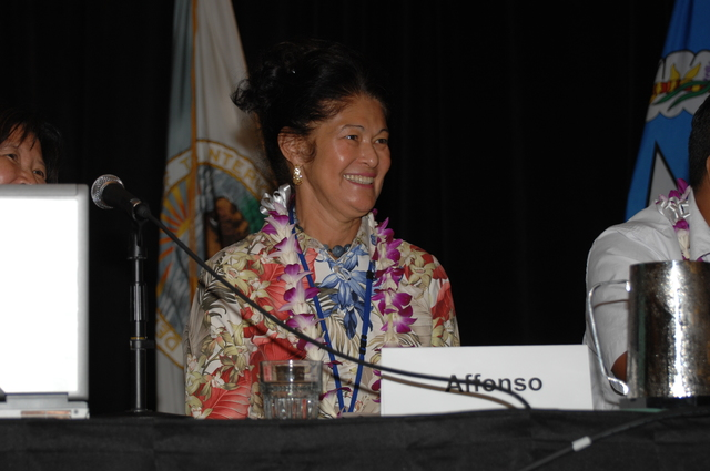 """[Assignment: 48-DPA-09-29-08_SOI_K_Isl_Conf_PM] Insular Areas Health Summit [(""""The Future of Health Care in the Insular Areas: A Leaders Summit"""") at the Marriott Hotel in] Honolulu, Hawaii, where Interior Secretary Dirk Kempthorne [joined senior federal health officials and leaders of the U.S. territories and freely associated states to discuss strategies and initiatives for advancing health care in those communities.] [48-DPA-09-29-08_SOI_K_Isl_Conf_PM_DOI_0725.JPG]"""