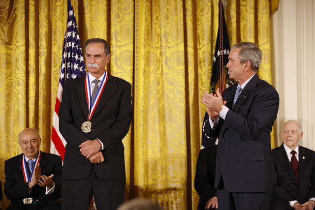 President George W. Bush Applauds 2007 National Medal of Science Recipient Dr. David Wineland