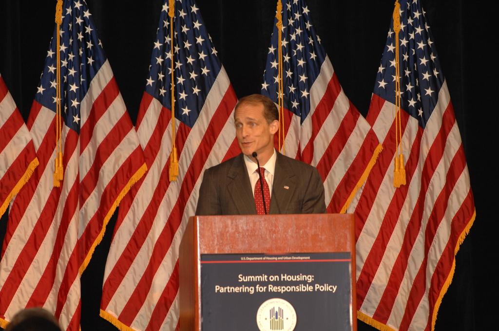 "Housing Summit - HUD-sponsored Summit on Housing, ""Partnering for Responsible Policy,"" [with Secretary Steve Preston among the speakers], at Mandarin Hotel, Washington, D.C."