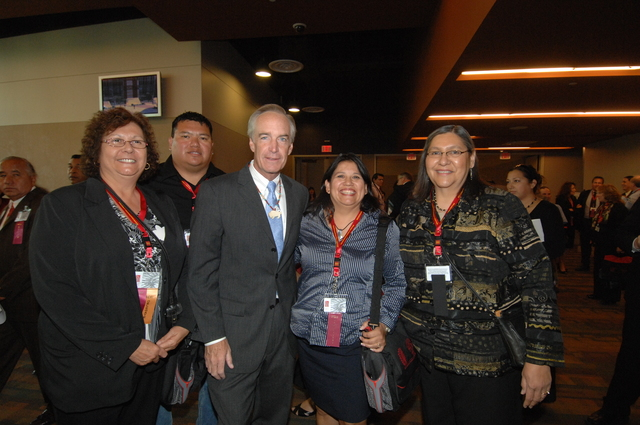 [Assignment: 48-DPA-10-20-08_SOI_K_BIA_NCAI] Secretary Dirk Kempthorne [at the Phoenix Convention Center, Phoenix, Arizona to address the 65th Annual Convention of the] National Congress of American Indians [48-DPA-10-20-08_SOI_K_BIA_NCAI_DOI_2503.JPG]