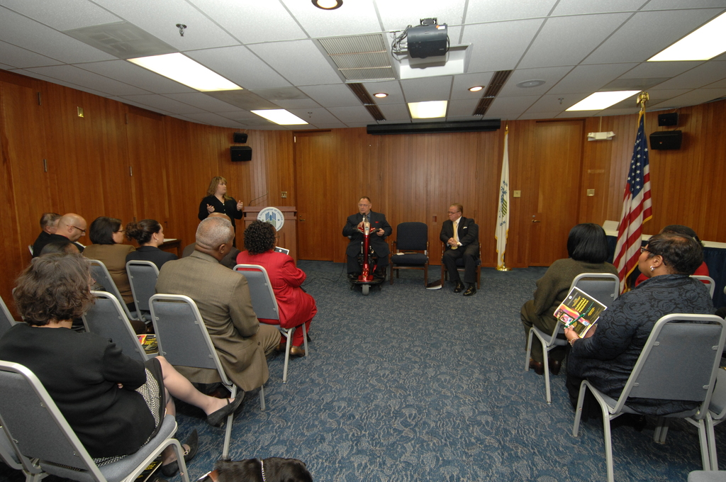 Disability Employment Awareness Month Program - Disability Employment Awareness Month Program at HUD Headquarters, [with Secretary Steve Preston and other HUD officials on hand]