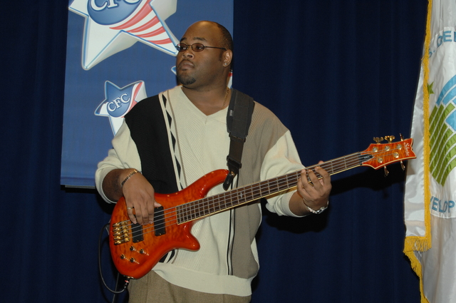 Marcus Johnson Concert at HUD - Performance by Marcus Johnson, [jazz-fusion pianist-keyboardist and producer], and band mates at HUD Headquarters to benefit Combined Federal Campaign